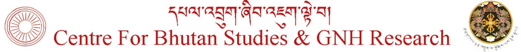Centre for bhutan studies gnh research paper